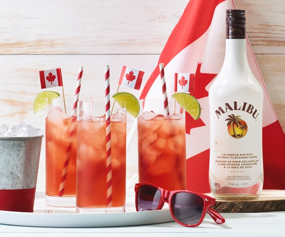 The Malibu (Canadian) Cranberry