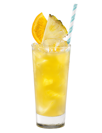 Malibu Pineapple & Orange Juice