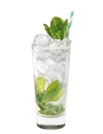 Coconut Mint Collins