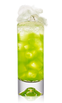 Home malibu rum drinks for Halloween green punch recipes alcoholic