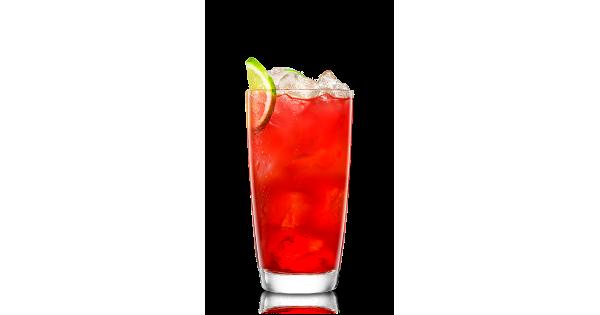 Island Melon With Club Soda Amp Cranberry Recipe Malibu