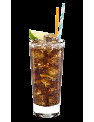 Malibu And Cola Recipe Malibu Rum Drinks