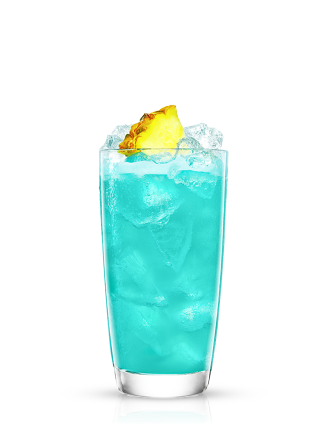 Malibu Pineapple Blue Hawaiian