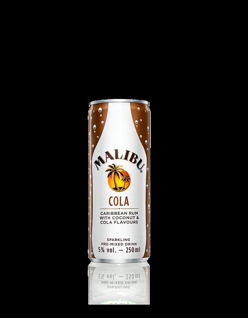 Malibu Cola Cans Malibu Rum Drinks