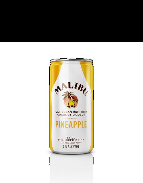 Malibu Pineapple Cans Malibu Rum Drinks