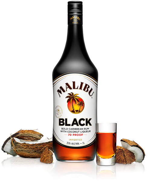 Malibu Black Malibu Rum Drinks