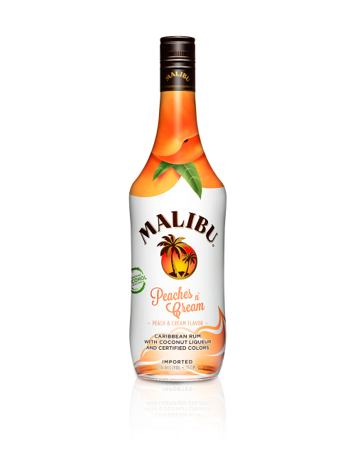 Malibu Peaches And Cream Malibu Rum Drinks