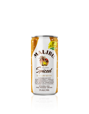 Malibu Island Spiced & Club Soda