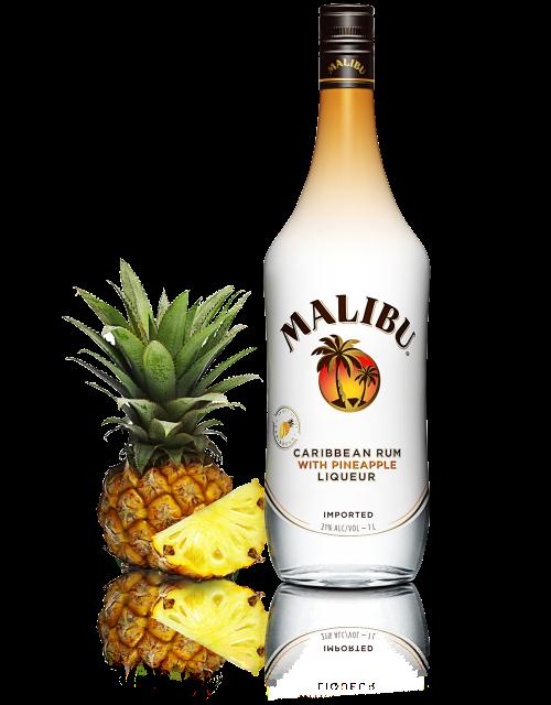 Malibu Rum And Pineapple Drink