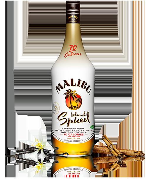 Island Spiced Rum Malibu Rum Drinks